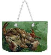A Crab On Its Back Weekender Tote Bag