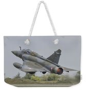 A French Air Force Mirage 2000d Taking Weekender Tote Bag