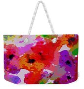 A Little Watercolor Weekender Tote Bag