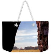 A Monument Valley View Weekender Tote Bag