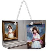 A Painting Of A Painting Weekender Tote Bag