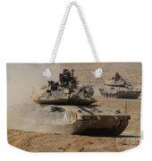A Pair Of Israel Defense Force Merkava Weekender Tote Bag
