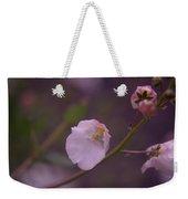 A Soft Flower Weekender Tote Bag