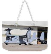 A U.s. Marine Corps Mv-22b Osprey Weekender Tote Bag