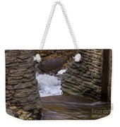 Above The Falls Weekender Tote Bag