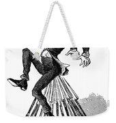 Abraham Lincoln Cartoon Weekender Tote Bag