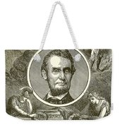 Abraham Lincoln Weekender Tote Bag by English School