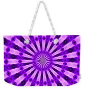 Abstract 122 Weekender Tote Bag