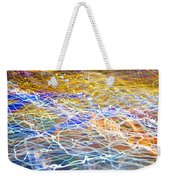 Abstract Background - Citylights At Night Weekender Tote Bag