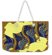 Abstract Fusion 177 Weekender Tote Bag