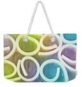 Abstract Pattern Weekender Tote Bag