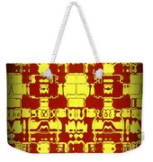 Abstract Series 4 Weekender Tote Bag