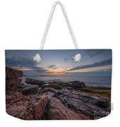 Acadia Rocky Sunrise Weekender Tote Bag