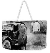 Adolf Hitler Shortly After His Release From Prison 1924 1924-2012 Weekender Tote Bag