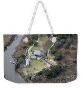 Aerial Near Jekyll Island Weekender Tote Bag