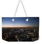Aerial View Of Melbourne Weekender Tote Bag