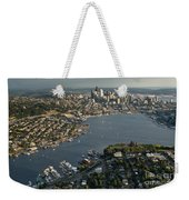 Aerial View Of Seattle Weekender Tote Bag