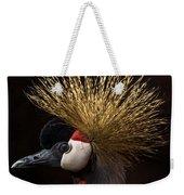 African Crowned Crane Weekender Tote Bag