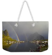 After The Rain In Reine Weekender Tote Bag