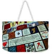 Aids Quilt -- 1 Weekender Tote Bag