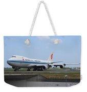 Air China Cargo Boeing 747 Weekender Tote Bag