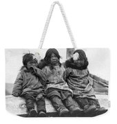 Alaska Eskimo Children Weekender Tote Bag