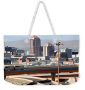 Albuquerque Skyline Weekender Tote Bag