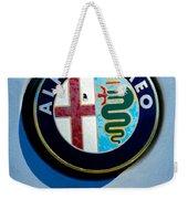 Alfa Romeo Emblem Weekender Tote Bag