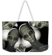 Alien Abduction Weekender Tote Bag