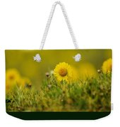 Alpine Flowers Weekender Tote Bag