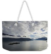 Alpine Lake With Islands Weekender Tote Bag