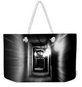Altered Image Of A Tunnel Leading Out Of The Catacombs In Paris France Weekender Tote Bag
