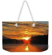 American Lake Sunrise Weekender Tote Bag