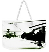 An Apache Ah64d Helicopter Weekender Tote Bag