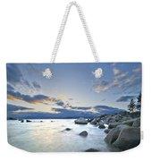 An Evening At Tahoe Weekender Tote Bag