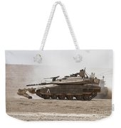 An Israel Defense Force Merkava Mark Iv Weekender Tote Bag