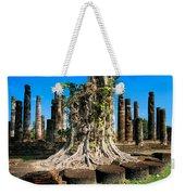 Ancient Temple Ruins Weekender Tote Bag