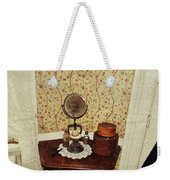 Antique Toiletry Weekender Tote Bag