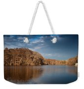 Apalachicola River  Weekender Tote Bag by Debra Forand