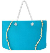 Aphrodite Mechanitis Necklace Weekender Tote Bag by Augusta Stylianou