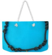 Aphrodite Melainis Necklace Weekender Tote Bag by Augusta Stylianou