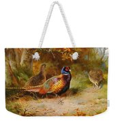 Autumn Covert Pheasants Weekender Tote Bag