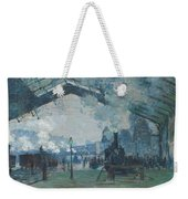 Arrival Of The Normandy Train Weekender Tote Bag