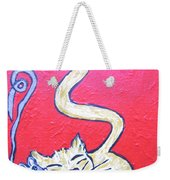 Art Cat Weekender Tote Bag