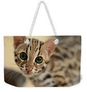 Asian Leopard Cub Weekender Tote Bag