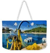 Asos Village In Kefallonia Island Weekender Tote Bag