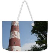 Assateague Lighthouse Weekender Tote Bag