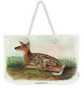 Audubon Deer Weekender Tote Bag