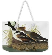 Audubon Merganser Weekender Tote Bag