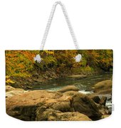 Autumn At Bulls Bridge Weekender Tote Bag